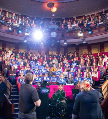 Credit: Royal Institution image of the audience