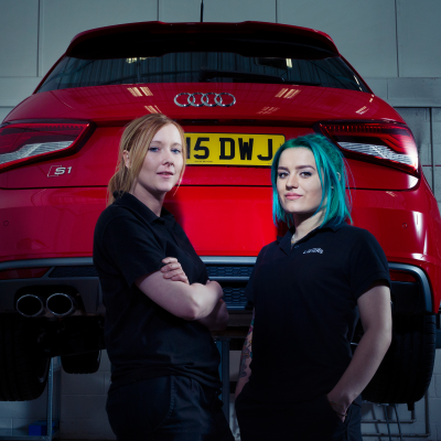 Gillian & Helen - Light Vehicle Service Technician