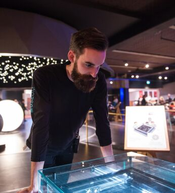 Paul, technician at the Science Museum in London