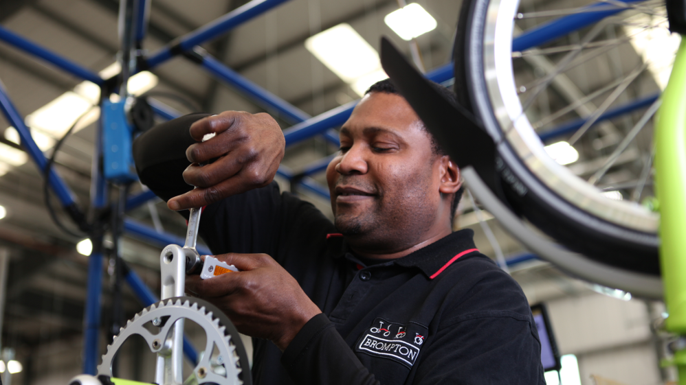Assembly Team Manager at Brompton Bikes