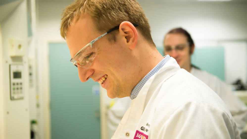 Tom, Teaching and Research Technician at the University of Manchester